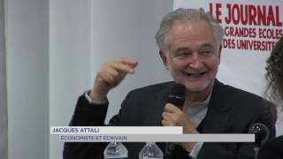 Conférence : Jacques Attali disserte avec les élèves d'HEC