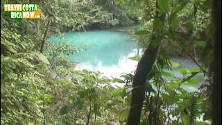 Traveling to Rio Celeste, Costa Rica