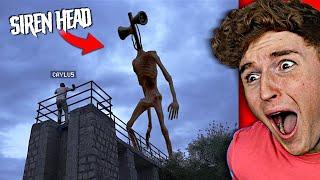 I Couldn't ESCAPE The BIGGEST SIREN HEAD.. (Terrifying)