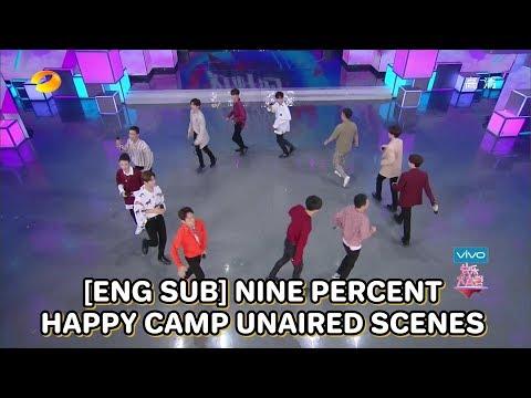 [ENG SUB] 180616 Nine Percent Happy Camp Unaired Scenes