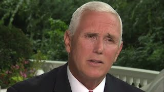 """Mike Pence: Bob Woodward book gets """"everything"""" wrong"""