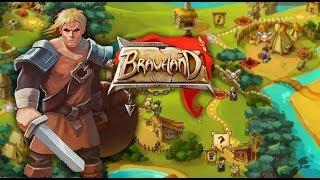 약탈당한 마을사람들을 구출하는 턴제 전략게임 - 브레이브 랜드 ( Braveland ) [ 유튜브 게임방송 ]