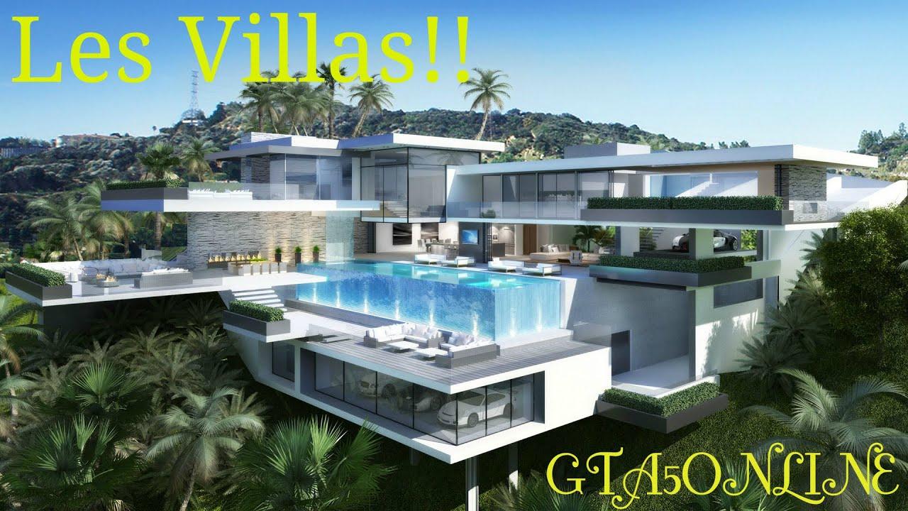 Les Villas Dlc Truans En Col Blancs Youtube
