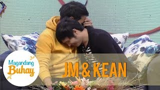 Magandang Buhay: JM and Kean get emotional with each other's messages