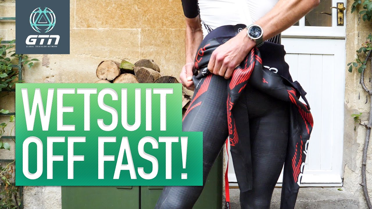 How To Remove Your Wetsuit Quickly | Go From Swim To Bike Faster!