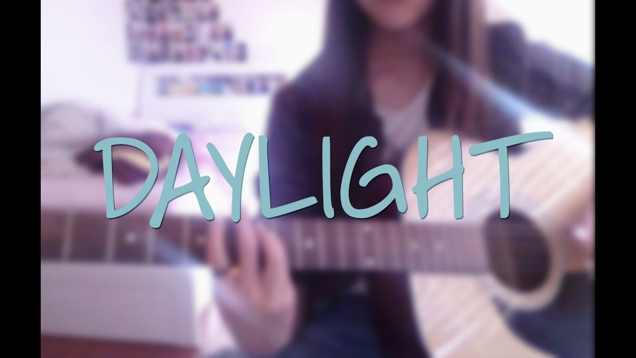 Daylight 5 Seconds Of Summer Guitar Cover Chords Youtube