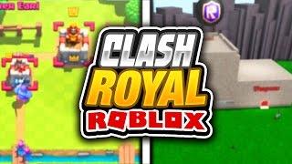 CLASH ROYALE in ROBLOX w/ Seniac!!