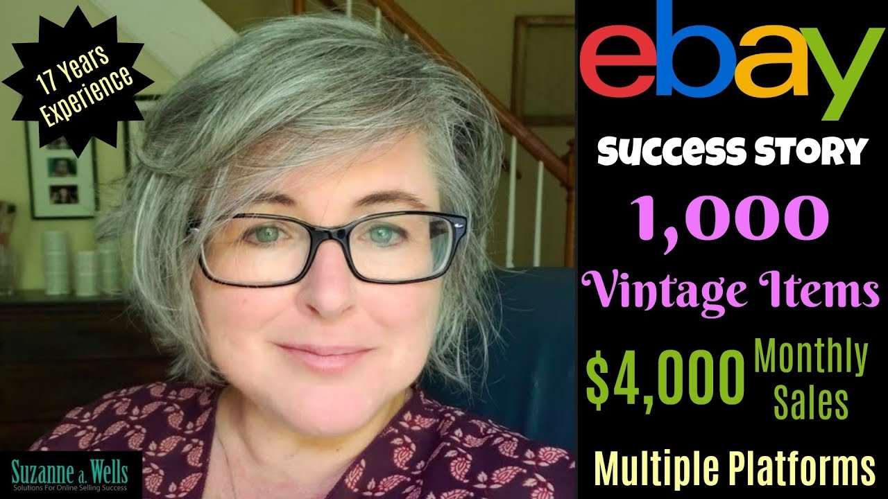 Ebay Seller Success 1 000 Vintage Items And 4k Monthly Sales Youtube