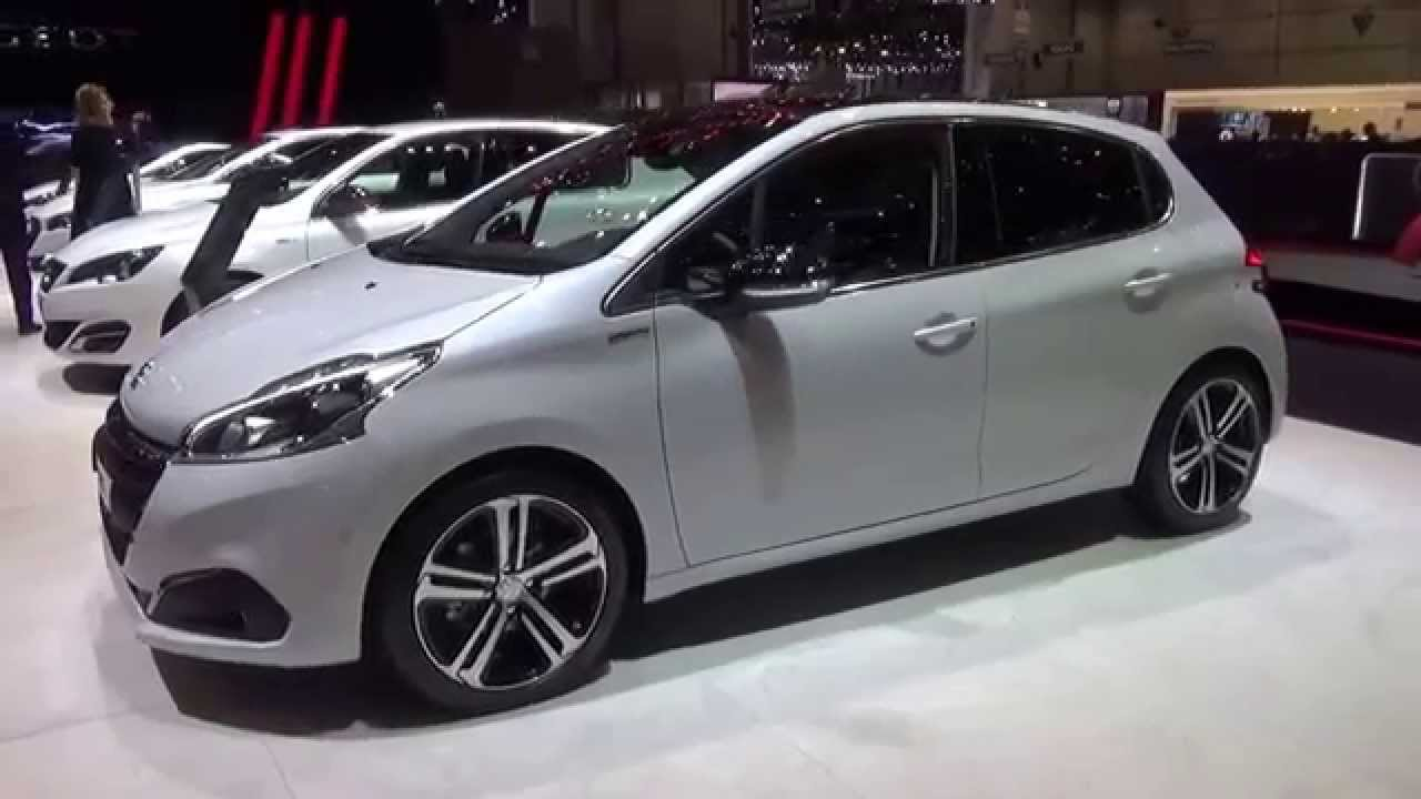 2016 peugeot 208 gt exterior and interior geneva motor show 2015 youtube. Black Bedroom Furniture Sets. Home Design Ideas