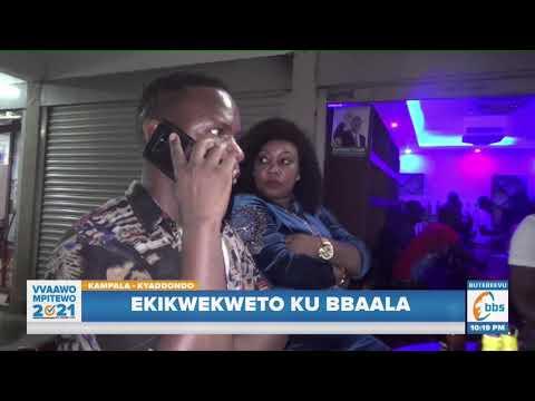 Abatamiivu bejja dda ku muggalo, Poliisi eyodde abawerako mu kikwekweto mu Kampala