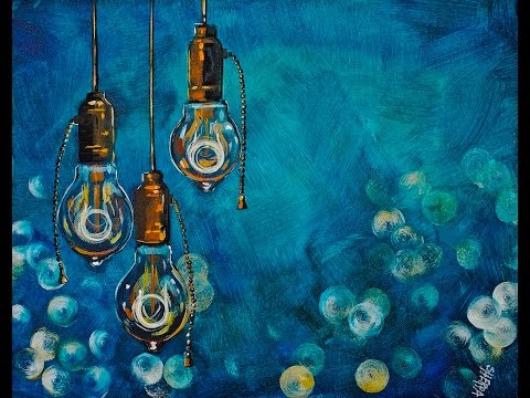 Steampunk Eureka!! Step by Step Acrylic Painting on Canvas for Beginners