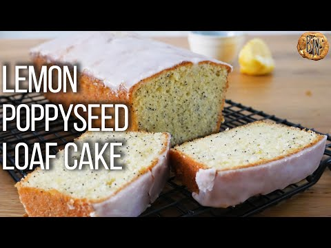 Lemon poppy seed loaf cake