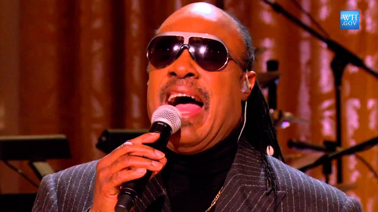 Stevie Wonder At The Motown Sound In Performance At The
