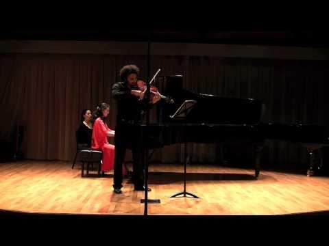 Brahms Viola Sonata op.120, N.2, I. Allegro amabile - Juan Miguel Hernandez