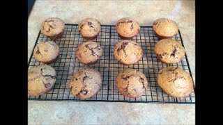 Oatmeal Chocolate Chip Muffins - Rise Wine & Dine - Episode 2