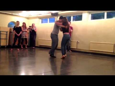 Bachata Choreography 4 (with music) @ KTH Travel Video