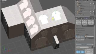 Blender creating holes and windows