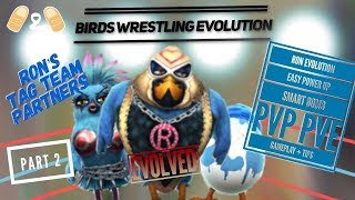 Angry Birds Evolution Ron Evolved Easy Power Up Smart Bomb Reference Gameplay