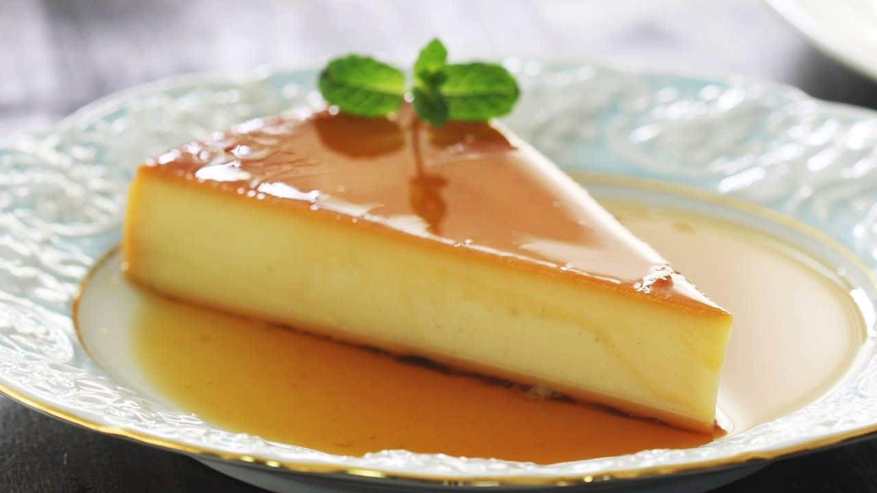 Cheesecake Flan Recipe Youtube