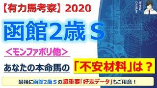 【函館2歳ステークス2020 有力馬考察】モンファボリ他 人気馬5頭を徹底考察!