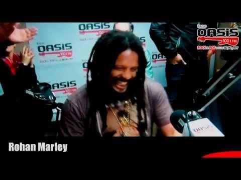 Saludos Rohan Marley para Radio Oasis Mp3
