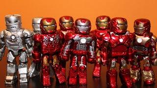 10 IRON MAN SET! - MINIMATES SET REVIEW!!!