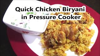 Inspired by Innaiku Enna Samayal | Quick Chicken Biriyani Recipe In Pressure Cooker