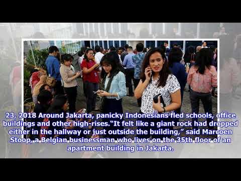Earthquake Strikes Off Coast of Indonesia, Panicking Jakarta
