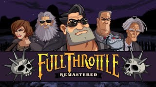 Full Throttle Remastered – Game Movie (All Cutscenes / Story Walkthrough) 1080p HD