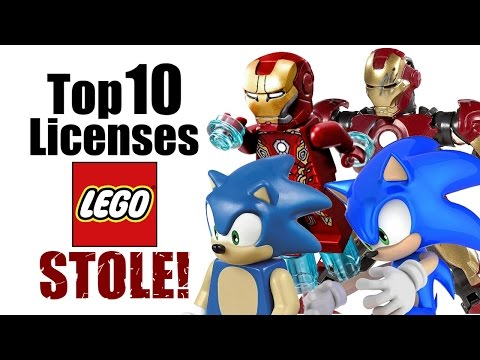 Top 10 Licenses LEGO Stole!