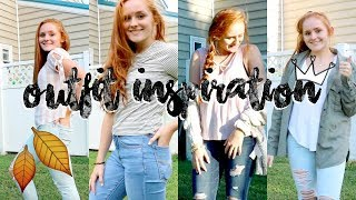 Fall Outfit Lookbook//OOTW