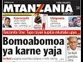 MAGAZETI LIVE: Familia ya Lissu yafunguka, Bomoabomoa ya karne yaja