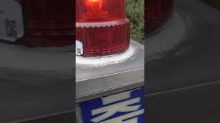 롯데마트 서대전점 경광전기 출차주의등