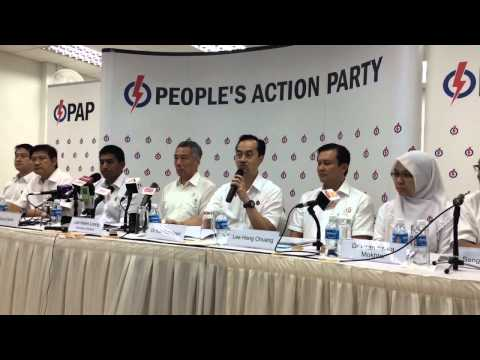 Koh Poh Koon speaks after unveiled as PAP's Ang Mo Kio GRC candidate