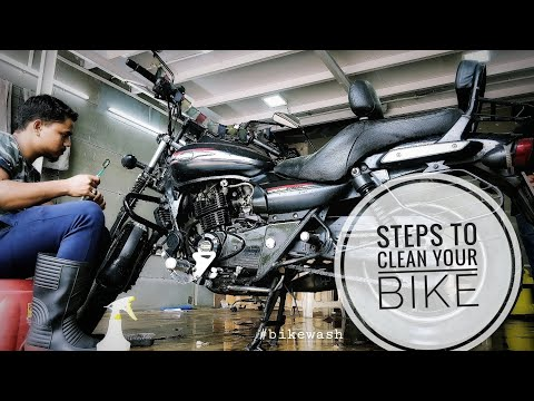 How to clean your bike? Steps for effective bike cleaning.