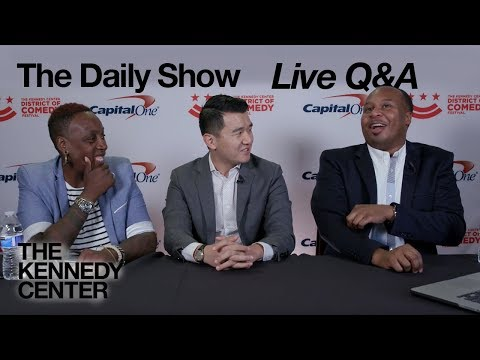 The Daily Show Correspondents - Live Q&A with Roy Wood Jr., Ronny Chieng, and Gina Yashere