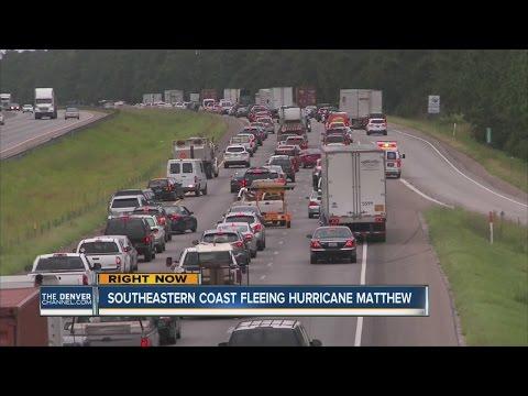 Florida, Georgia and South Carolina prepare for Hurricane Matthew