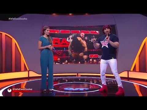 Arabic: A surprise return interrupts Roman Reigns and Samoa Joe's match