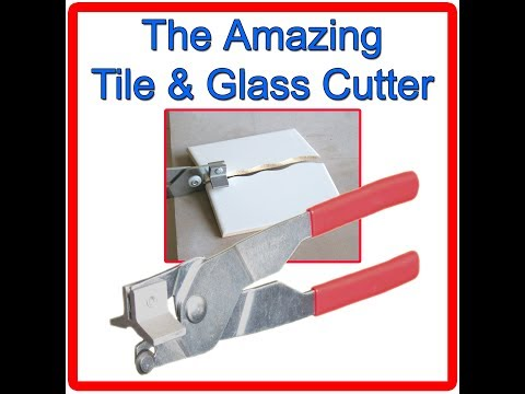 How To Cut Shapes In Tile Without A Wetsaw Youtube
