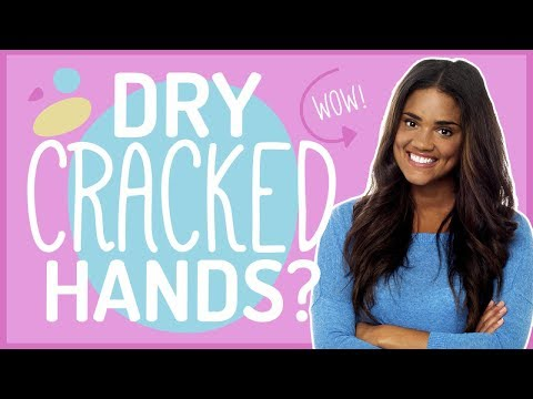 Extreme Dry Skin On Hands And Wrists | Fix Dry Hands and Fingers