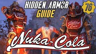 Fallout 76 HIDDEN NUKA COLA ARMOR: T51b Power Armor Paint! #Fallout76