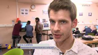 """Chronique juniors : ateliers """"électrochic"""""""