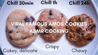 Baking Vlog Viral Famous Amos Cookies (Modified) l ASMR Cooking