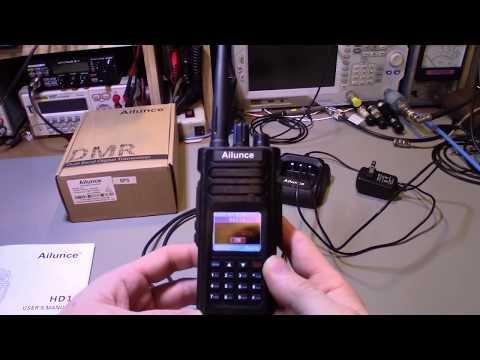 Retevis Ailunce HD1 GPS dual band 2m 70cm DMR walkie talkie review and  teardown