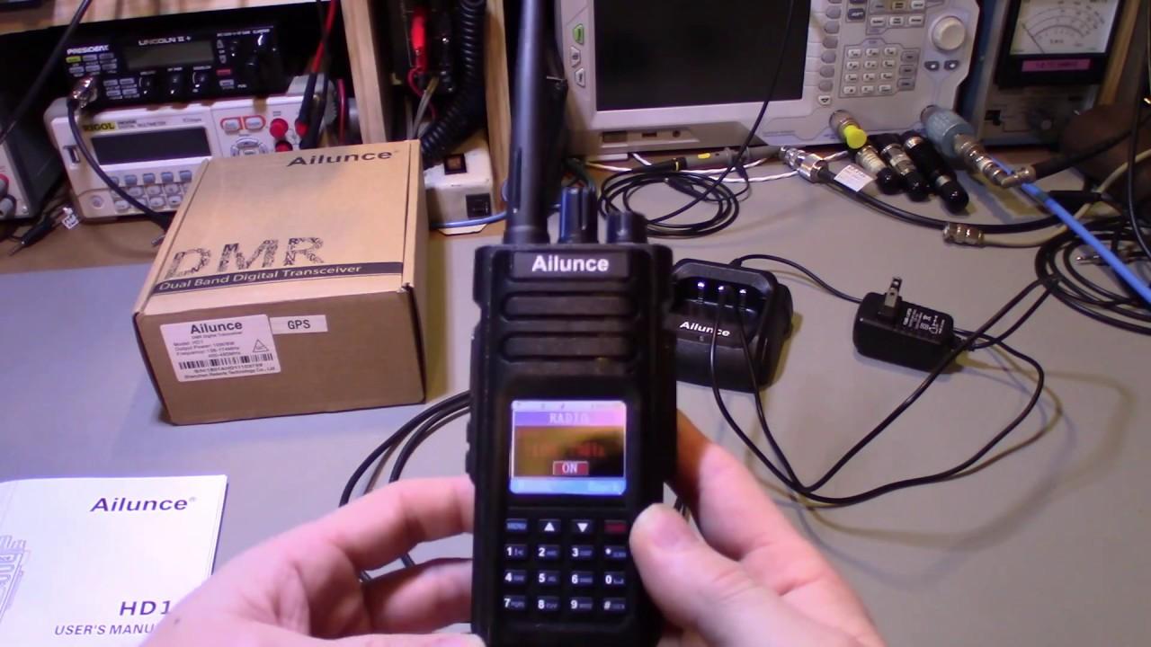 Ailunce HD1 Field Programming Radio review - Retevis Blog