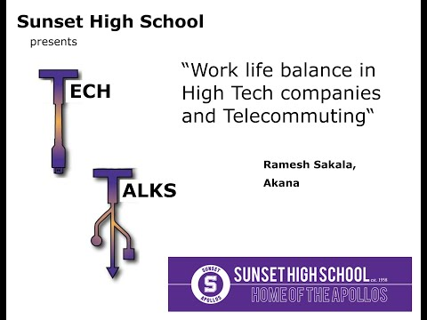 Work life balance in High Tech companies and Telecommuting