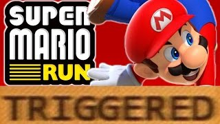 How Super Mario Run TRIGGERS You!