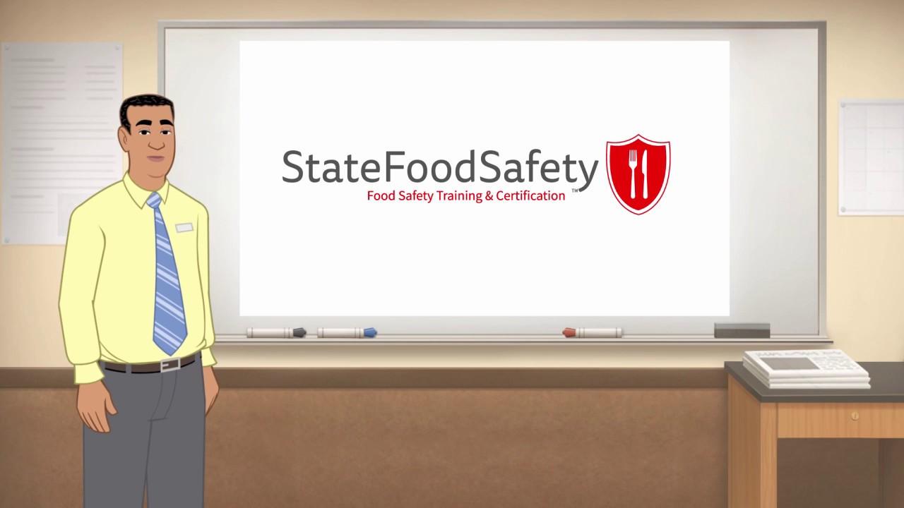 Food Manager Certification & Safety Test | StateFoodSafety com