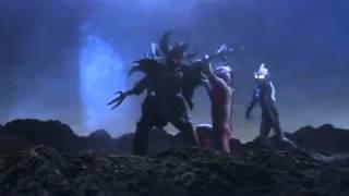 Ultraman Mebius And Hikari vs Armored Darkness