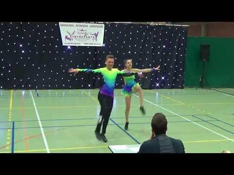 Ben Stassen & Minne Geladi Footwork, Wedstrijd 08.10.2017